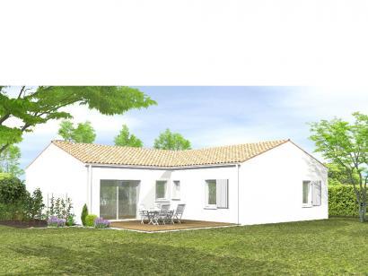 Modèle de maison Avant-projet BRESSUIRE - 104 m² - 4 chambres 4 chambres  : Photo 2