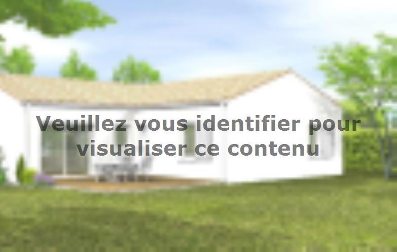 Modèle de maison Avant-projet BRESSUIRE - 104 m² - 4 chambres : Vignette 2