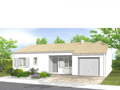 Modèle de maison Avant-Projet CERIZAY - 90 m² - 4 chambres 4 chambres  : Photo 1