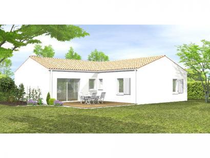 Modèle de maison Avant-projet CLISSON - 90 m² - 3 chambres 3 chambres  : Photo 2
