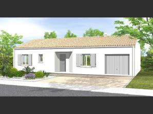 Avant-Projet FONTENAY LE COMTE - 80 m² - 3chambres