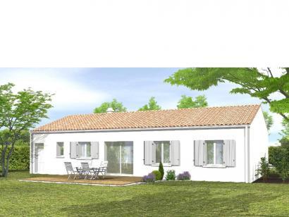 Modèle de maison Avant-Projet FONTENAY LE COMTE - 80 m² - 3chambres 3 chambres  : Photo 2