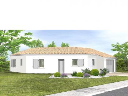 Modèle de maison Avant-projet LA MOTHE ACHARD - 83 m² - 3 chambres 3 chambres  : Photo 1