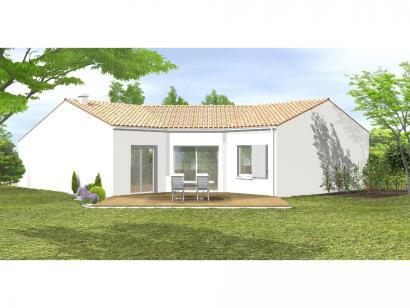 Modèle de maison Avant-projet LA MOTHE ACHARD - 83 m² - 3 chambres 3 chambres  : Photo 2