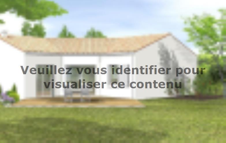Modèle de maison Avant-projet LA MOTHE ACHARD - 83 m² - 3 chambres : Vignette 2