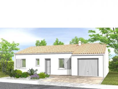 Modèle de maison Avant-projet La Roche Sur Yon  79m² - 3 chambres 3 chambres  : Photo 1