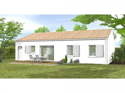 Modèle de maison Avant-projet La Roche Sur Yon  79m² - 3 chambres 3 chambres  : Photo 2