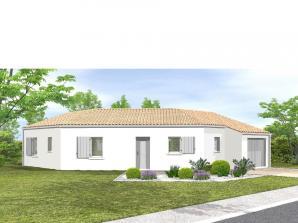 Avant-projet LES SABLES D'OLONNE  83 m² - 3 chambr
