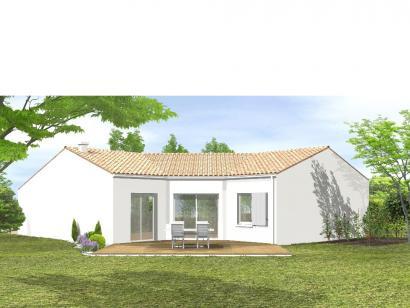 Modèle de maison Avant-projet LES SABLES D'OLONNE  83 m² - 3 chambr 3 chambres  : Photo 2