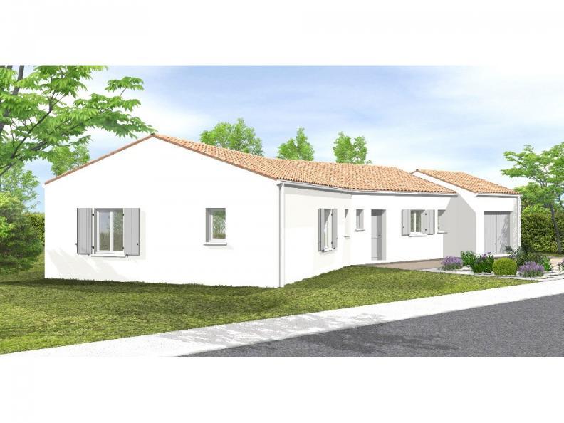 Modèle de maison Avant-Projet LES SORINIÈRES - 85 m² - 3 chambres : Vignette 1