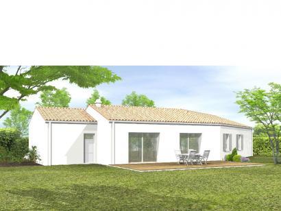 Modèle de maison Avant-Projet LES SORINIÈRES - 85 m² - 3 chambres 3 chambres  : Photo 2