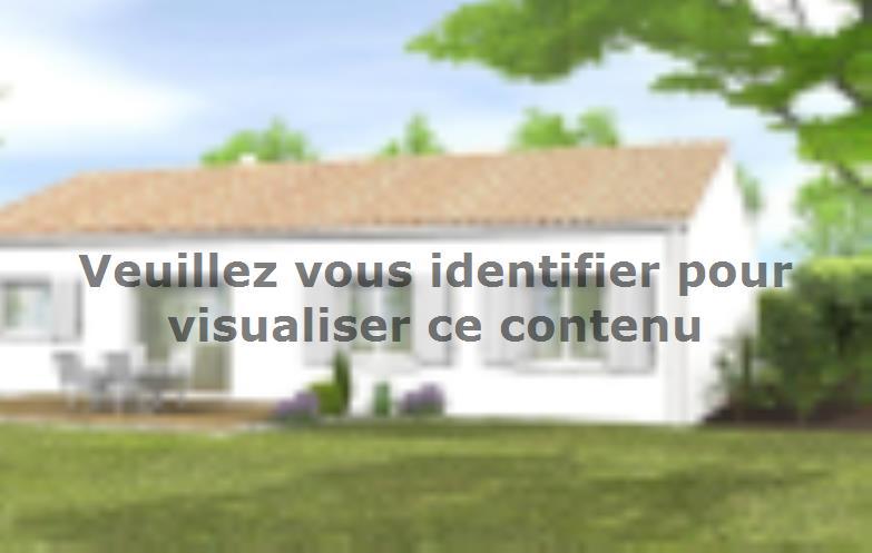Modèle de maison Avant-projet MACHE - 84 m² - 3 chambres : Vignette 2