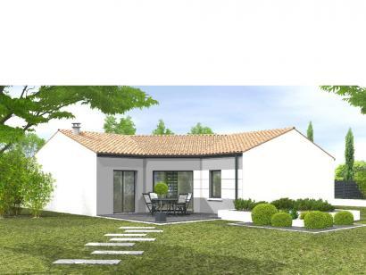 Modèle de maison Avant-projet MALLEZAIS - 90 m² - 3 chambres 3 chambres  : Photo 2