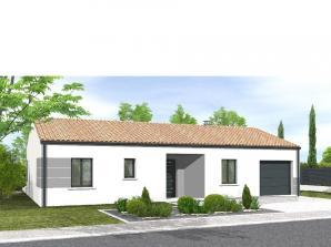 Avant-projet MARANS - 80 m² - 3 chambres