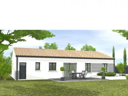 Modèle de maison Avant-projet MARANS - 80 m² - 3 chambres  : Photo 2