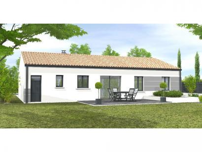 Modèle de maison Avant-projet MARANS - 80 m² - 3 chambres 3 chambres  : Photo 2