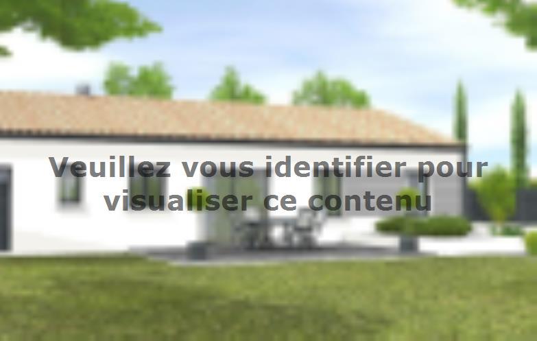 Modèle de maison Avant-projet MARANS - 80 m² - 3 chambres : Vignette 2