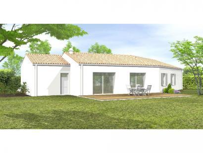 Modèle de maison Avant-Projet NALLIERS - 85 m² - 3 chambres 3 chambres  : Photo 2