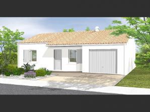 Avant-Projet NOTRE DAME DE MONTS - 67 m² - 2 chamb