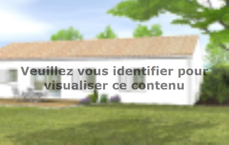 Modèle de maison Avant-projet ST JULIEN DES LANDES - 80 m² - 3 cham : Vignette 2