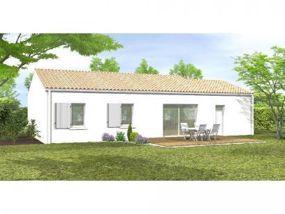 Modèle de maison Avant-projet ST PHILBERT DE BOUAINE 93 m² - 3 cham 3 chambres  : Photo 2