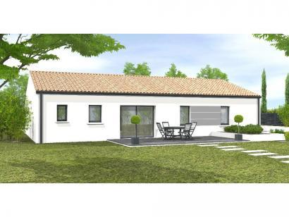 Modèle de maison Avant-projet TIFFAUGES - 103 m² - 4 chambres 4 chambres  : Photo 1