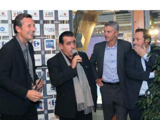 Azur et Constructions mise à l'honneur pour le match Istres / PAUC