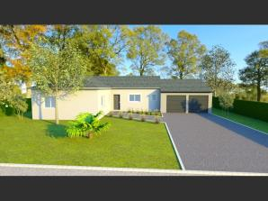 AVANT PROJET CHAMPAGNE - PP 114 M² - 3 chambres