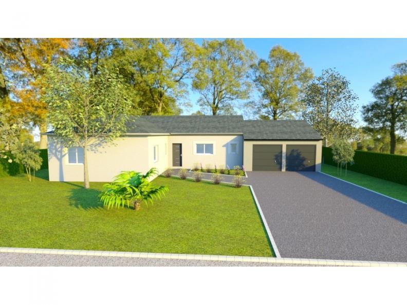 Modèle de maison AVANT PROJET CHAMPAGNE - PP 114 M² - 3 chambres : Vignette 1