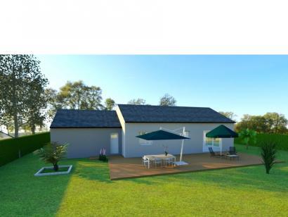 Modèle de maison AVANT PROJET CHAMPAGNE - PP 114 M² - 3 chambres 3 chambres  : Photo 2