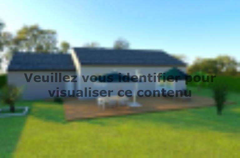 Modèle de maison AVANT PROJET CHAMPAGNE - PP 114 M² - 3 chambres : Vignette 2