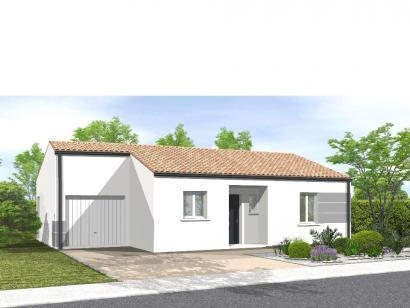 Modèle de maison AVANT PROJET EVRUNES 2 CHAMBRES 2 chambres  : Photo 1