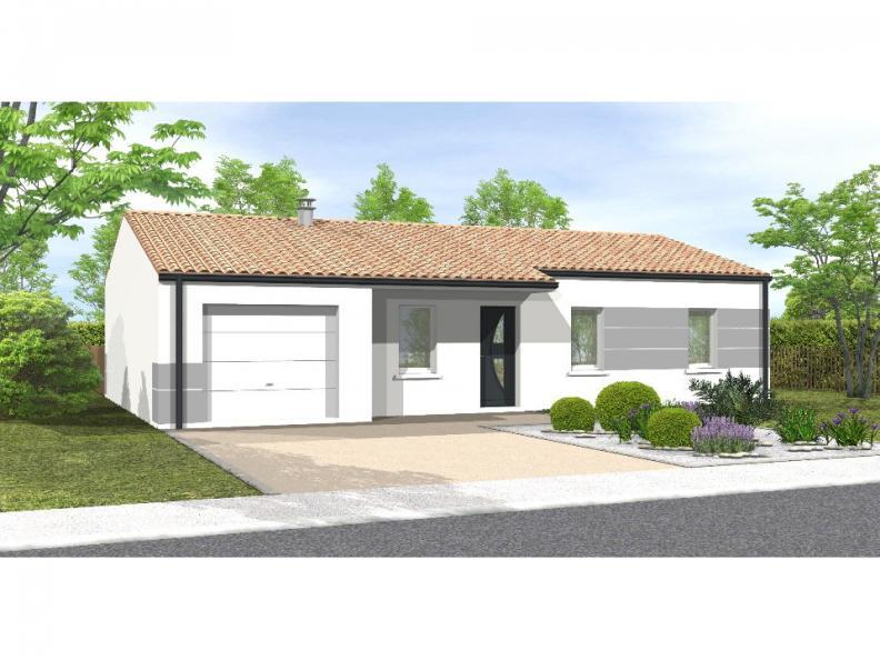 Modèle de maison Avant-projet St Etienne Du Bois 3 Chambres : Vignette 1