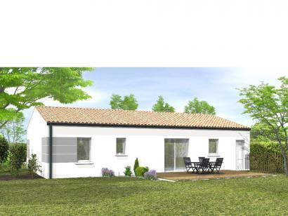 Modèle de maison Avant-projet St Etienne Du Bois 3 Chambres 3 chambres  : Photo 2