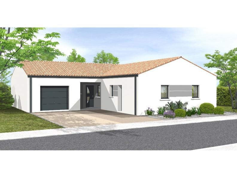 Modèle de maison Avant-Projet Rosnay 3 Chambres + 1 bureau : Vignette 1
