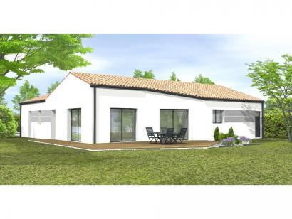 Modèle de maison Avant-Projet Rosnay 3 Chambres + 1 bureau 3 chambres  : Photo 2