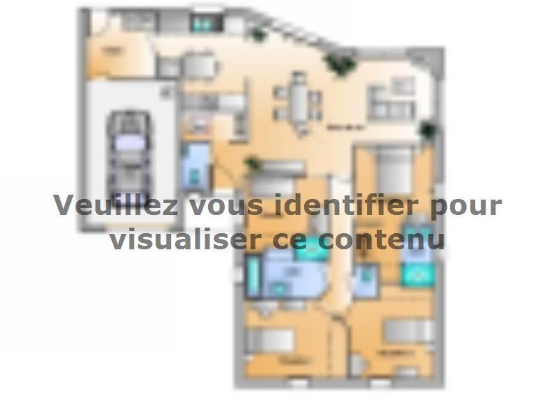 Plan de maison Avant-Projet Rosnay 3 Chambres + 1 bureau : Vignette 1