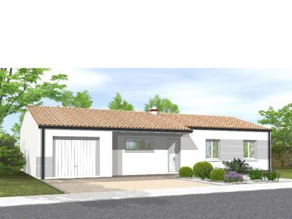 Modèle de maison Avant-Projet La Génetouze 3 chambres 3 chambres  : Photo 1