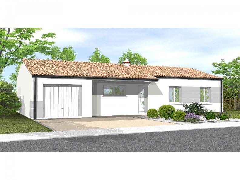 Modèle de maison Avant-Projet La Génetouze 3 chambres : Vignette 1