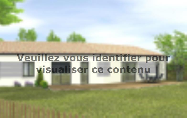 Modèle de maison Avant-projet Château DOlonne 4 chambres : Vignette 2