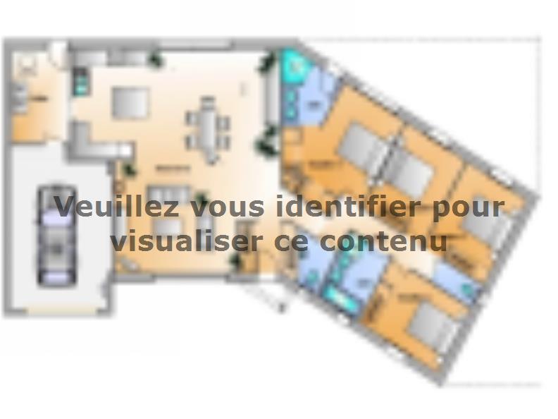 Plan de maison Avant-projet Château DOlonne 4 chambres : Vignette 1