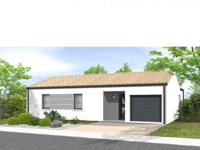 Modèle de maison Avant-projet Magné 3 chambres 3 chambres  : Photo 1