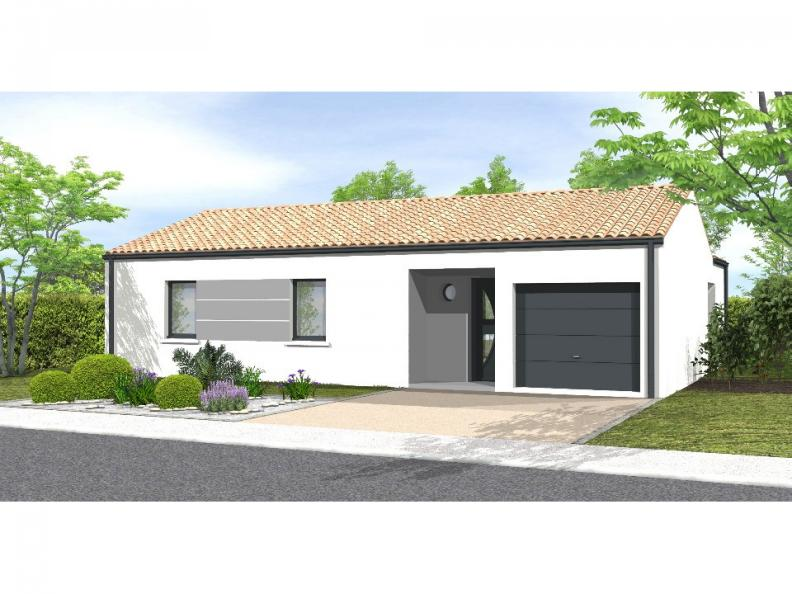 Modèle de maison Avant-projet Magné 3 chambres : Vignette 1