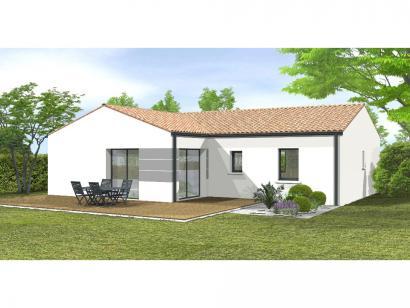 Modèle de maison Avant-projet Magné 3 chambres 3 chambres  : Photo 2