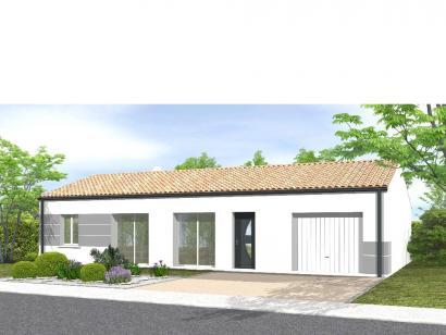 Modèle de maison Avant projet Le Givre 3 chambres + 1 bureau 3 chambres  : Photo 1