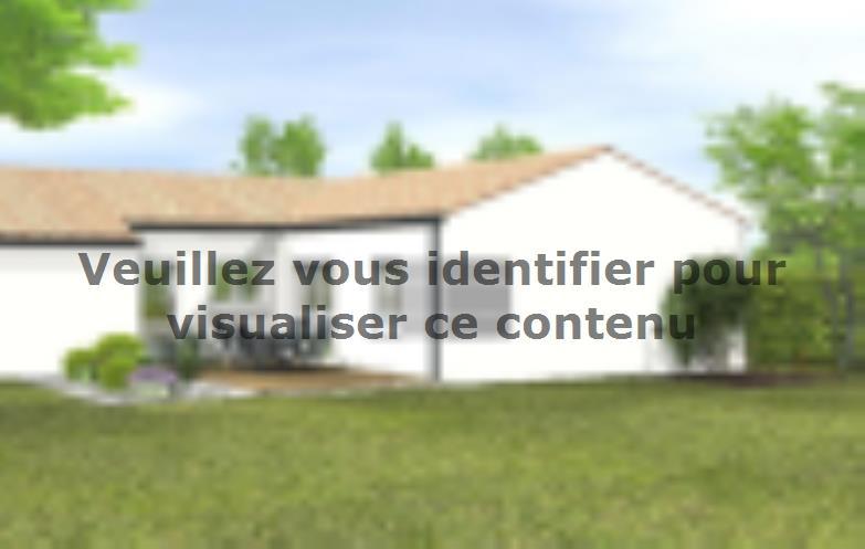 Modèle de maison Avant projet Le Givre 3 chambres + 1 bureau : Vignette 2
