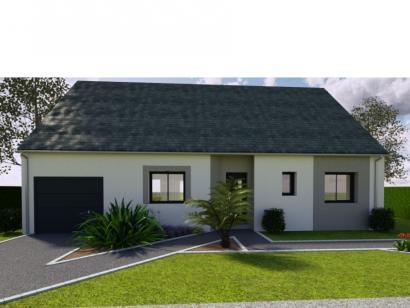 Modèle de maison AVANT PROJET PARIGNE L'EVEQUE - 85 m² - 3 chambres 3 chambres  : Photo 1