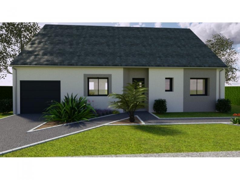 Modèle de maison AVANT PROJET PARIGNE L'EVEQUE - 85 m² - 3 chambres : Vignette 1