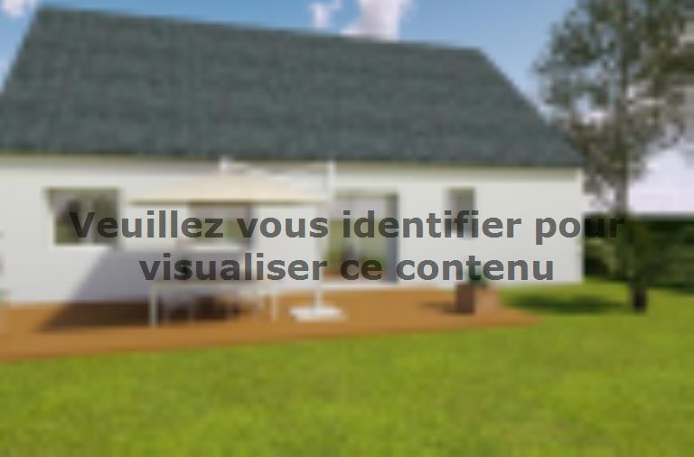 Modèle de maison AVANT PROJET PARIGNE L'EVEQUE - 85 m² - 3 chambres : Vignette 2