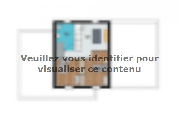 Plan de maison toit plat  : Photo 2